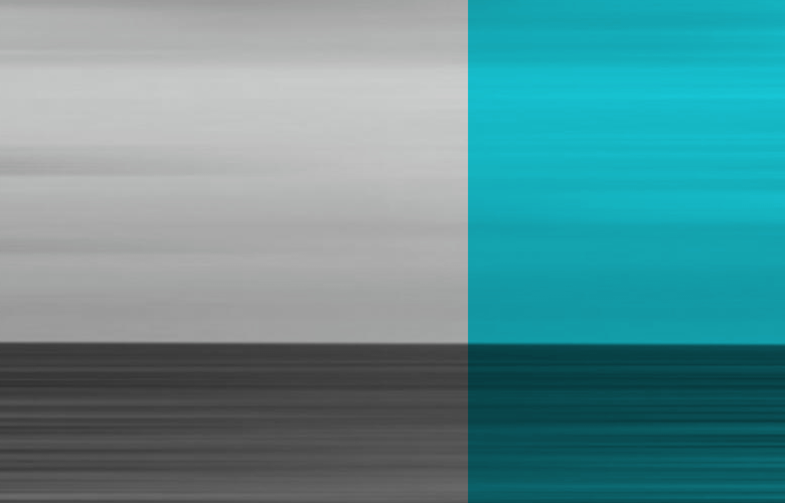 Abstract illustration, grays and cyans.
