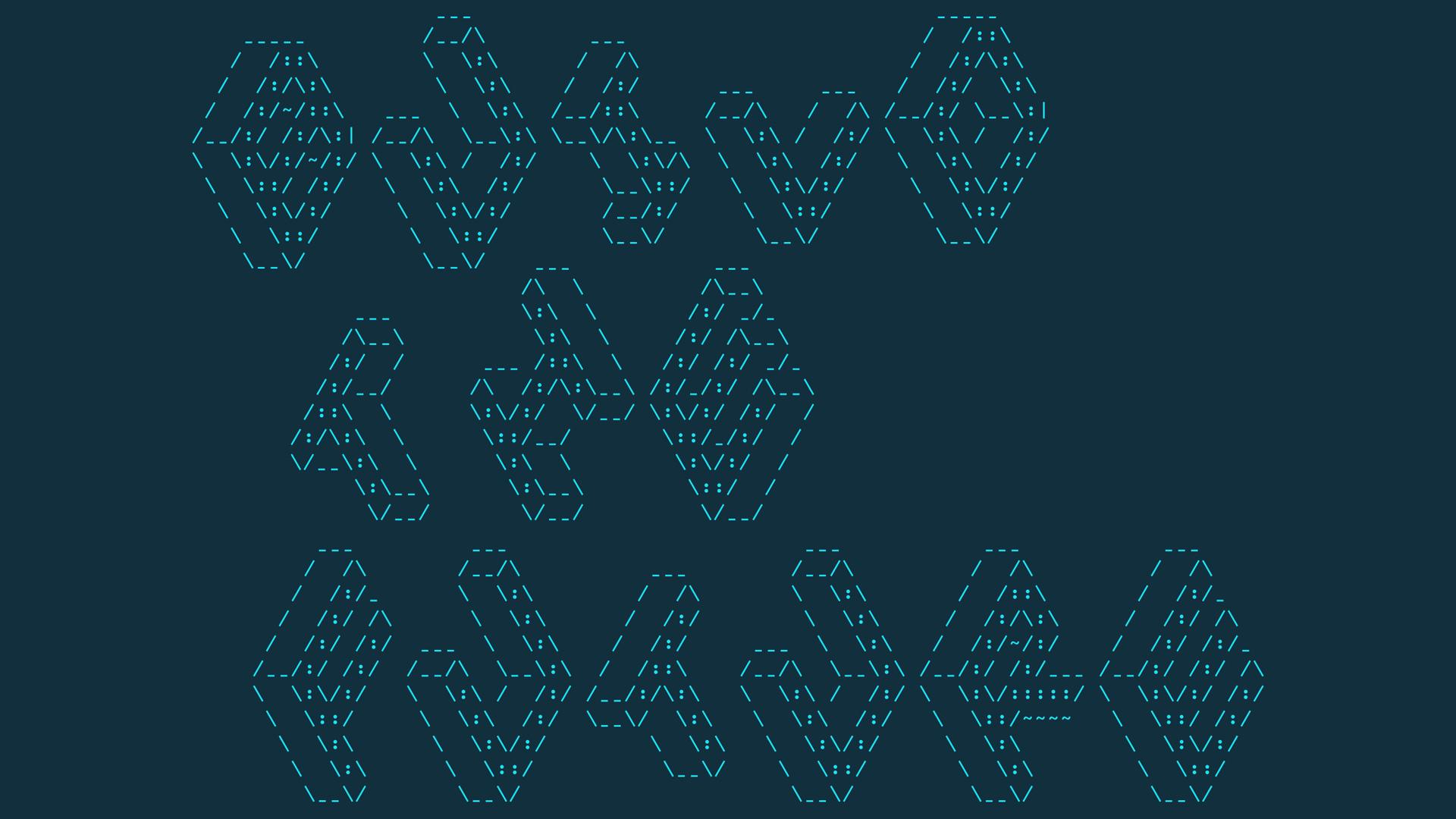 Build the Future ASCII text